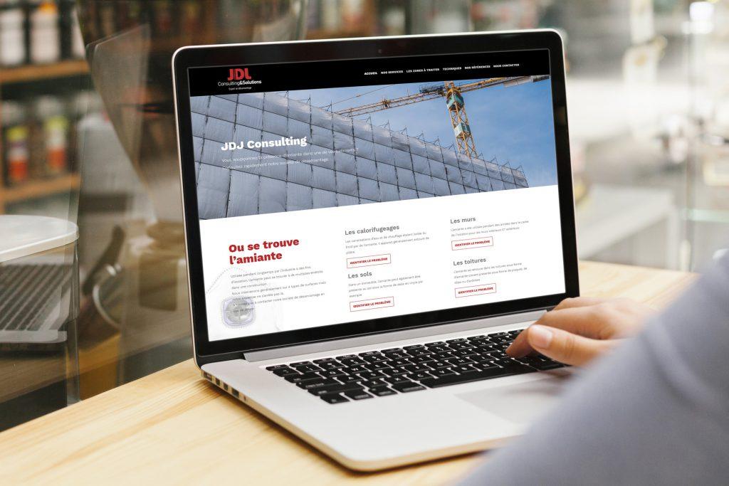 Création du Site internet pour JDJ Consulting